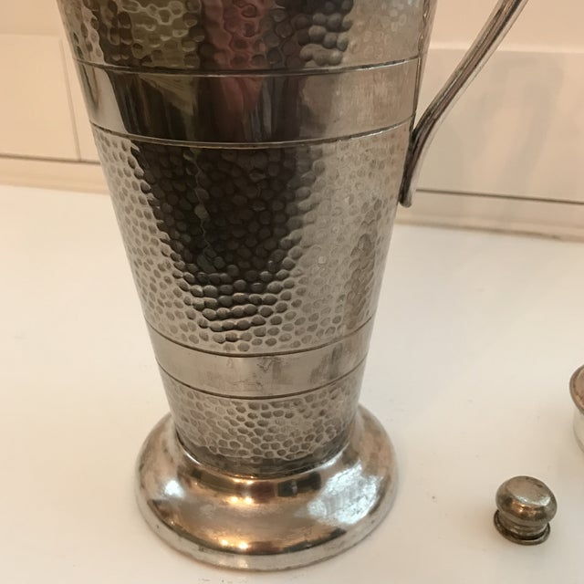 Forbes Silver Co. Art Deco Martini Shaker For Sale - Image 10 of 11