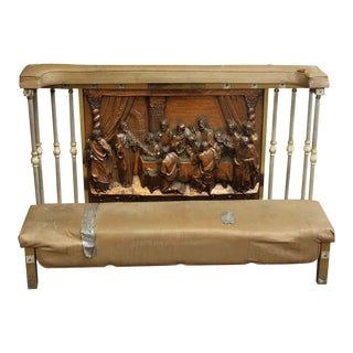 Lord's Supper Kneeler Bench