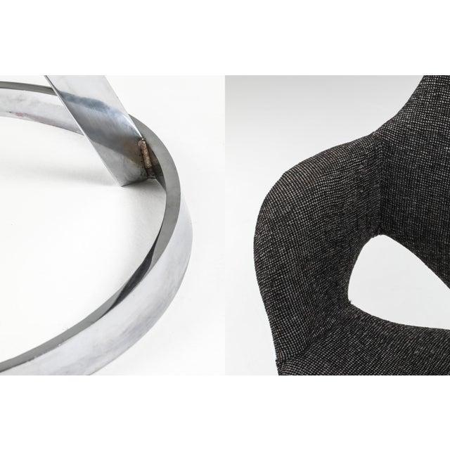 Metal Boris Tabaccof Dining Chairs For Sale - Image 7 of 10