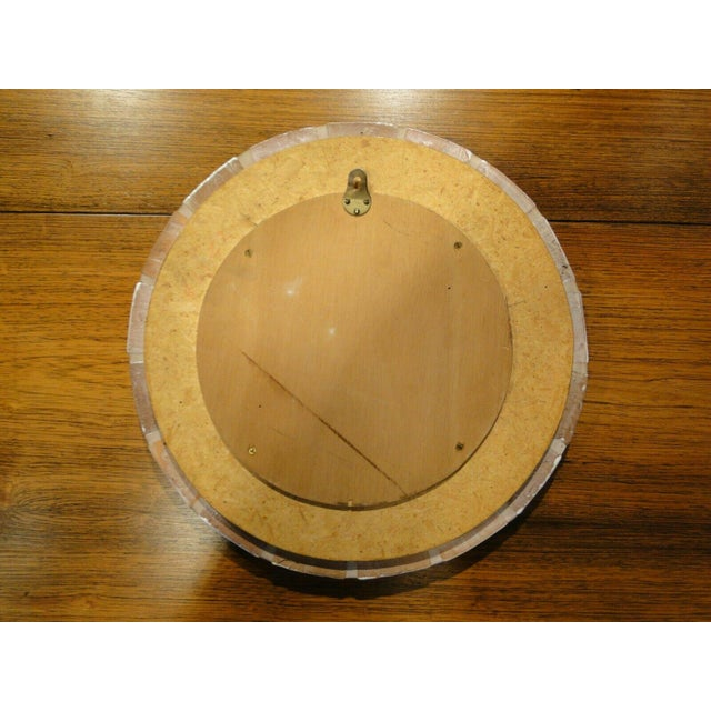 1960s 1960s Roger Capron Round Mirror For Sale - Image 5 of 7