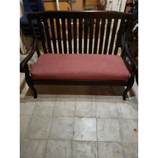 Antique French Mahogany Loveseat Preview