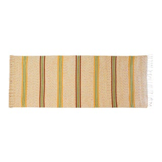 """Handwoven Reversible Vintage Swedish Rug by Scandinavian Made 82"""" x 29"""" For Sale"""