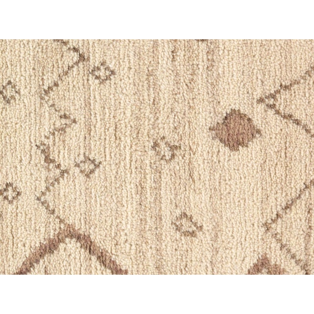Contemporary Pasargad Ny Moroccan Hand-Knotted Rug - 4′ × 6′ For Sale - Image 3 of 5