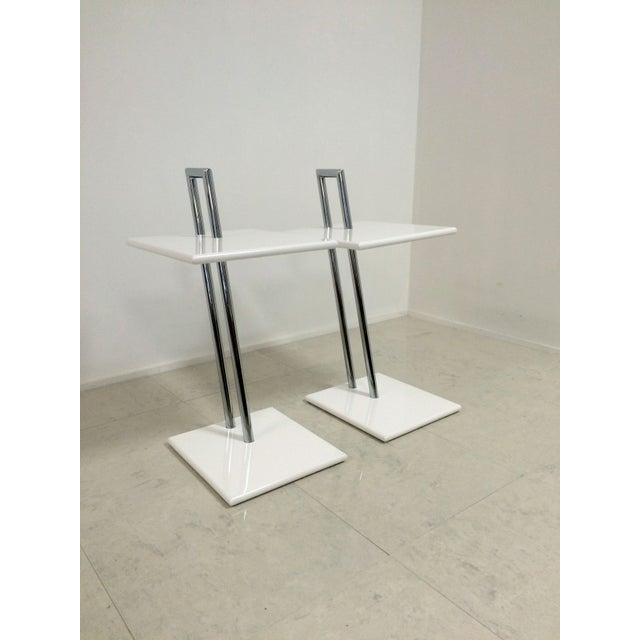 Vintage Eileen Gray Occasional Tables - A Pair - Image 3 of 6