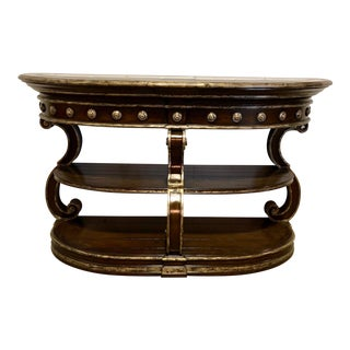 Perugia Marble Top Console Table