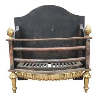 Vintage Regency Style Coal Fireplace Insert