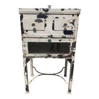 Vintage Medical Display Cabinet For Sale