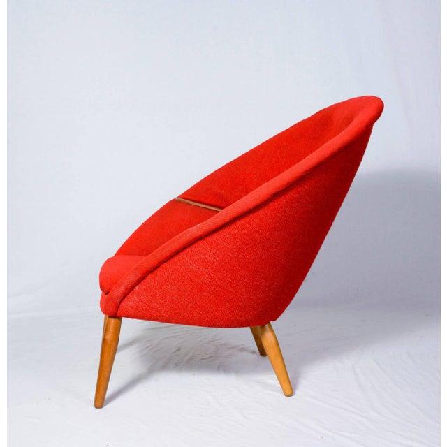 "Nanna Ditzel Nanna Ditzel ""Oda"" Lounge Chair For Sale - Image 4 of 9"