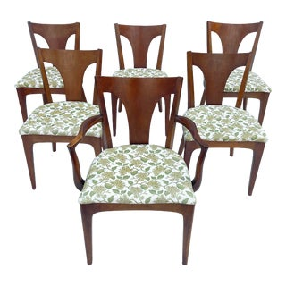 Set of Six Mid-Century Modern Dining Chairs For Sale
