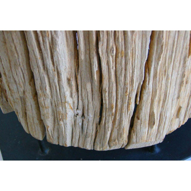 Large Driftwood Tree Trunk Sculpture For Sale - Image 9 of 10