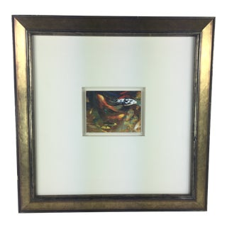 "1990s Edwin ""Eddie"" H. Friedman Koi Print For Sale"