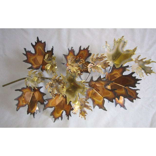 Curtis Jere Signed Wall Sculpture For Sale - Image 6 of 6