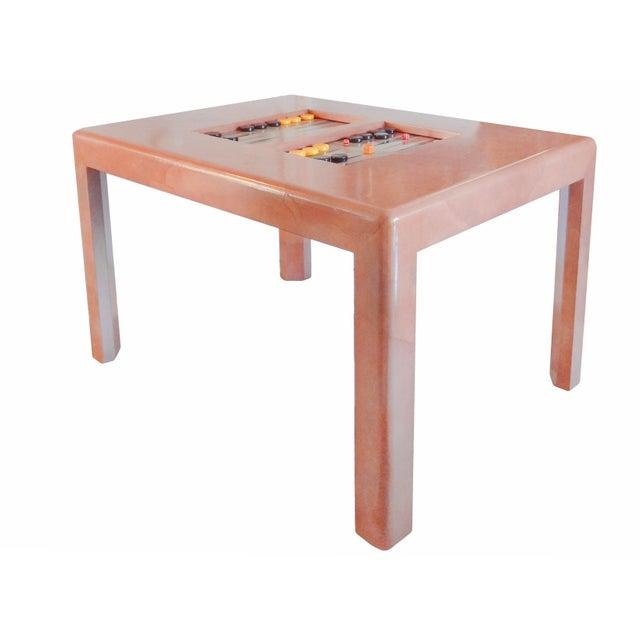 Karl Springer Game Table - Image 3 of 8