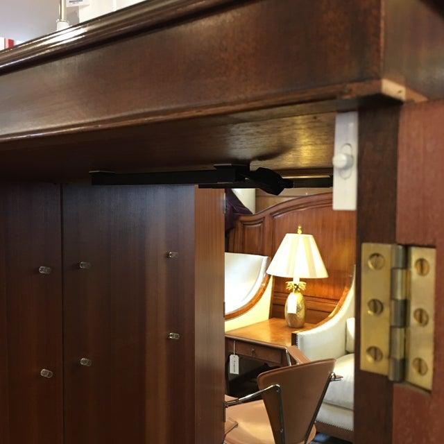Flame Mahogany Bar Cabinet - Image 10 of 11