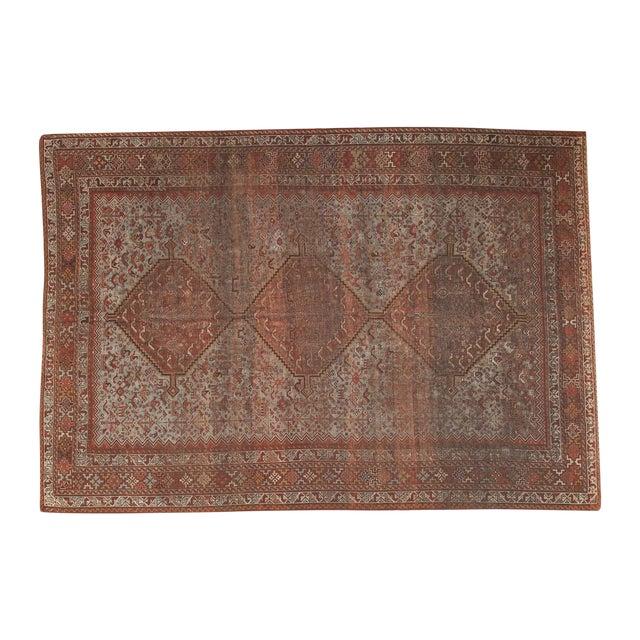 """Vintage Shiraz Carpet - 6'10"""" X 9'9"""" For Sale"""