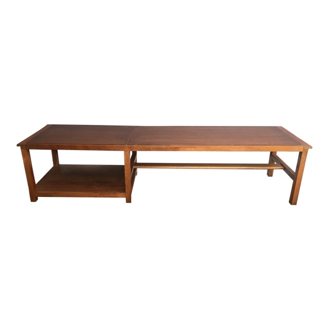 Vintage Dunbar Coffee Table or Bench - Image 1 of 7