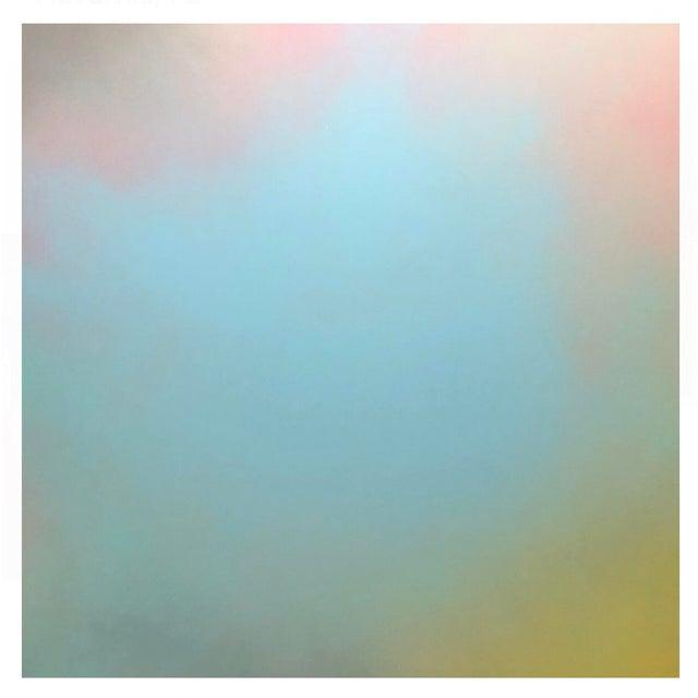 """2010s """"Happy Haze Ii"""" Acrylic Painting on Panel For Sale - Image 5 of 5"""