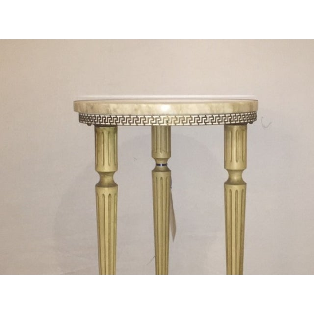 French Directoire Marble End Table - Image 2 of 6
