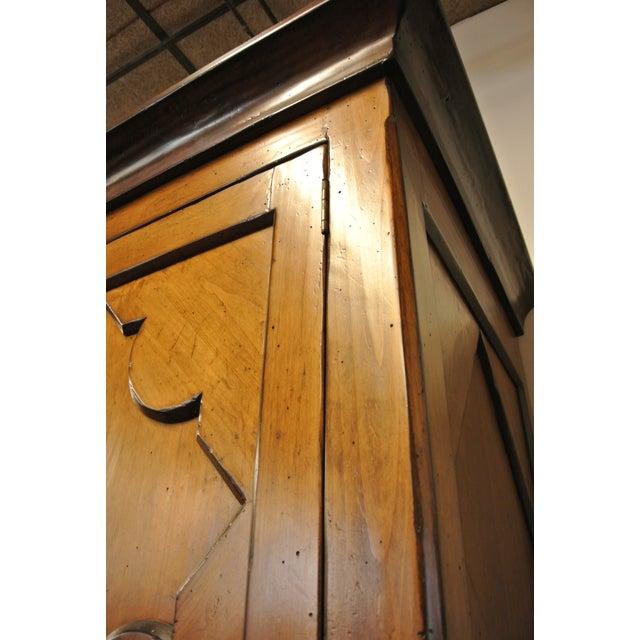 Jean Michel Arrigona Alder Wood Carved Armoire - Image 7 of 8