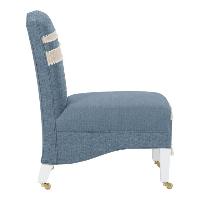 Traditional Casa Cosima Sintra Chair, Cats Eye For Sale - Image 3 of 5