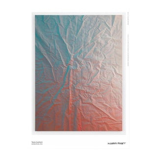 Tauba Auerbach Untitled (Fold) Poster, 2016 For Sale