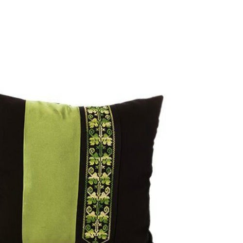 "These bold and colorful throw pillows are made by Bedouin women in the Negev Desert using traditional ""path of love"" and..."
