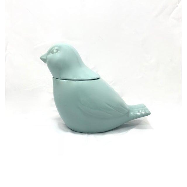 Ceramic Bird Cookie Jar For Sale - Image 4 of 5