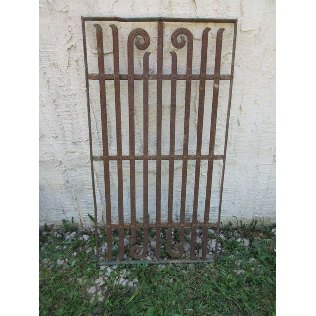 Antique Victorian Iron Door - Image 2 of 8