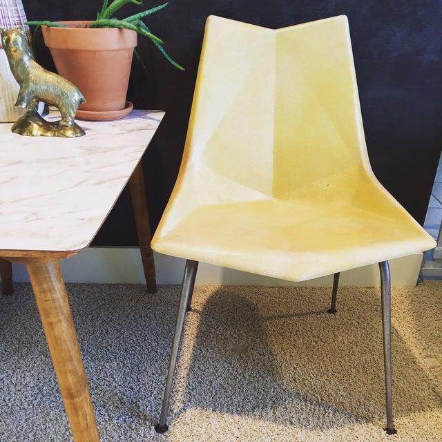 Paul McCobb Origami Fiberglass Chair - Image 2 of 9