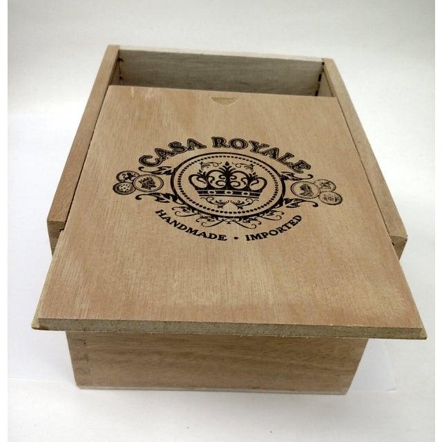 Vintage Cigar Jewelry Box - Image 5 of 10
