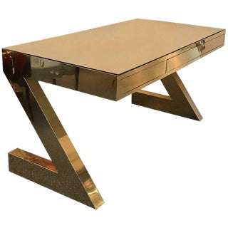 1990s Modern Z Desk For Sale