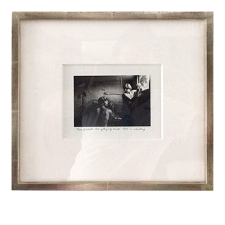 Framed Photograph by Duane Michals For Sale