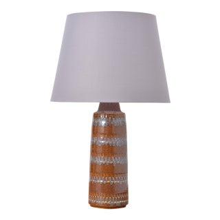 Vintage Ceramic Table Lamp by Soholm Stentoj For Sale