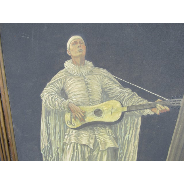 Herman Heyer Vintage Musician Oil Panels - A Pair For Sale In West Palm - Image 6 of 9