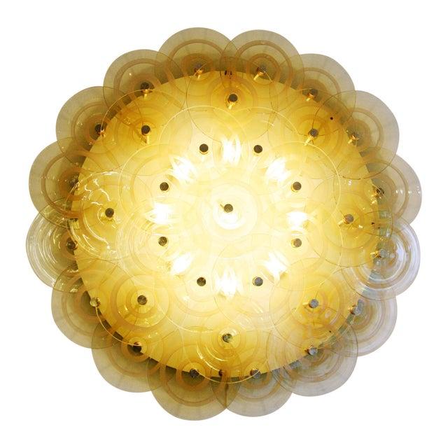 Vistosi Murano Flush Mount Light by Vistosi For Sale - Image 4 of 4