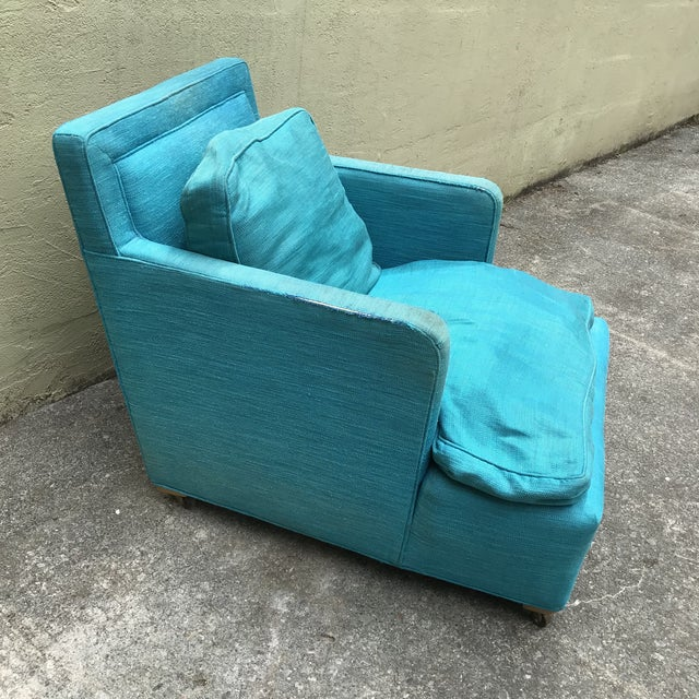 Contemporary Lounge Chair Designed by Edward Wormley for Dunbar For Sale - Image 3 of 10