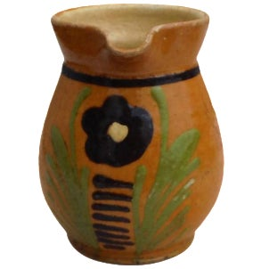 French Pottery Pitcher - Image 1 of 3