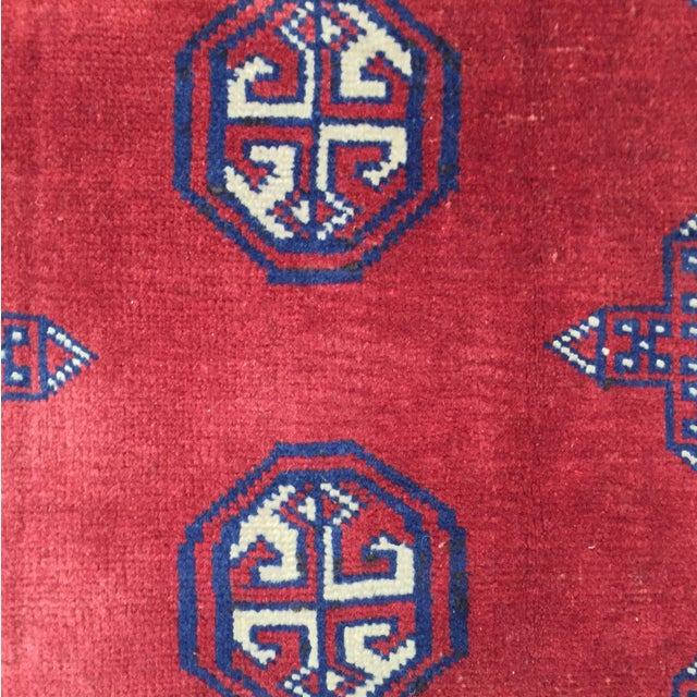 Turkaman Red Persian Rug - 2′2″ × 3′1″ - Image 5 of 8