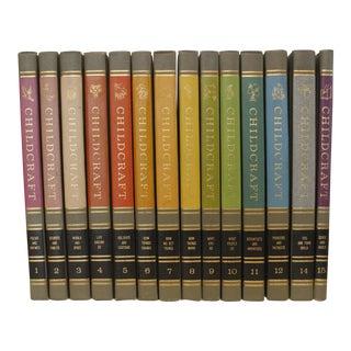 1964 Vintage Childcraft Books - Set of 15 For Sale