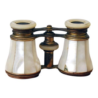 Antique Mother of Pearl Opera Glasses For Sale