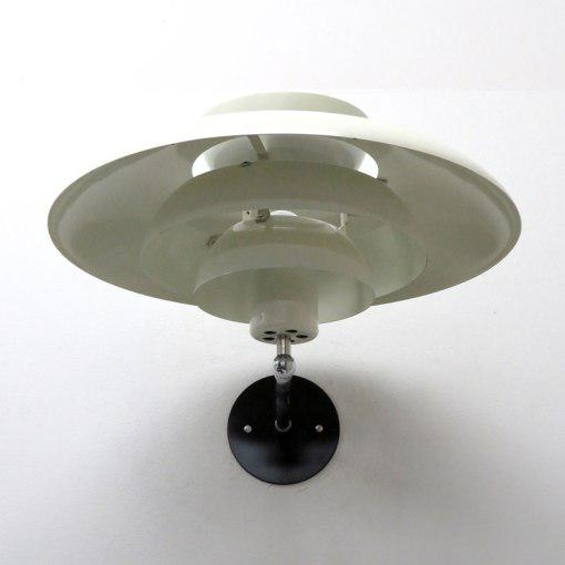 1950s Horn Danish Wall Light For Sale - Image 5 of 11