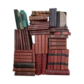 Instant Antique Library Collection - Set of 52 For Sale