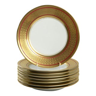 Ceralene Byzance Dinner Plate Set of 8 For Sale