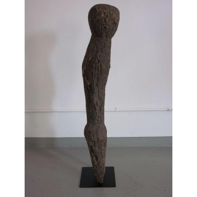 African Carved Aftican Wood Sculpture from Togo For Sale - Image 3 of 8