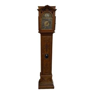 Antique French Grandfather Clock, circa 1850 For Sale