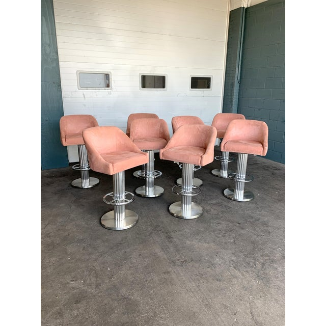 Design for Leisure Bar Stools - Set of 8 For Sale - Image 9 of 11