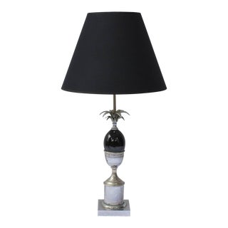 Vintage Maison Charles Pineapple Table Lamp For Sale