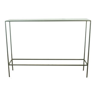 Modern Room & Board Slim Console Table For Sale