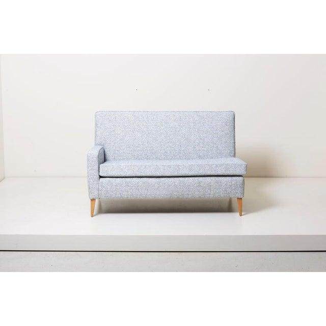 Planner Group Paul McCobb Sectional Corner Sofa Custom Craft/ Planner Group Newly Upholstered For Sale - Image 4 of 13