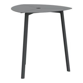 Third Bistro Table in Graphite For Sale